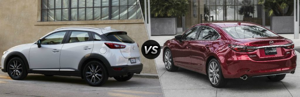 Does the 2018 Mazda CX-3 or the 2018 Mazda6 Have More ...