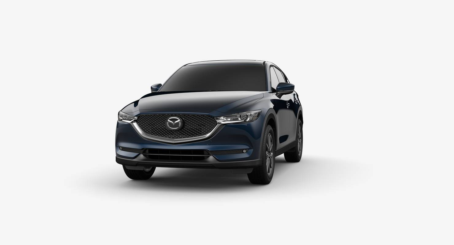2018 Mazda CX-5 crossover SUV deep crystal blue mica
