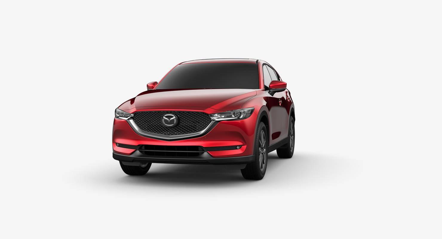 2018 Mazda CX-5 crossover SUV soul red crystal metallic