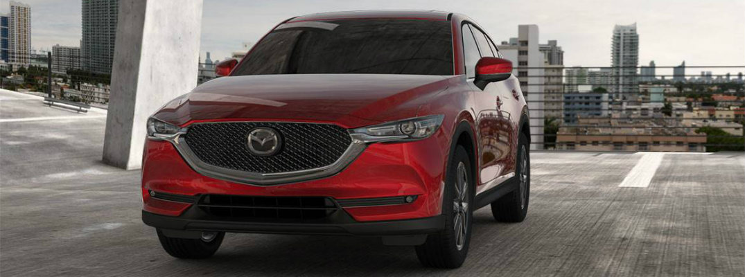 What are the Color Options for the 2018 Mazda CX-5?