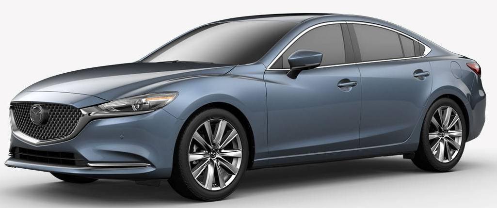 2018 Mazda6 Blue Reflex Mica