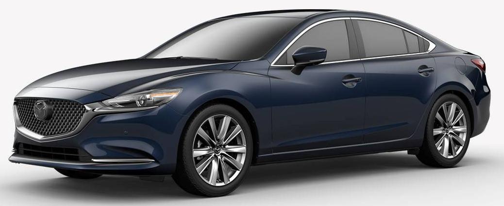 2018 Mazda6 Deep Crystal Blue Mica