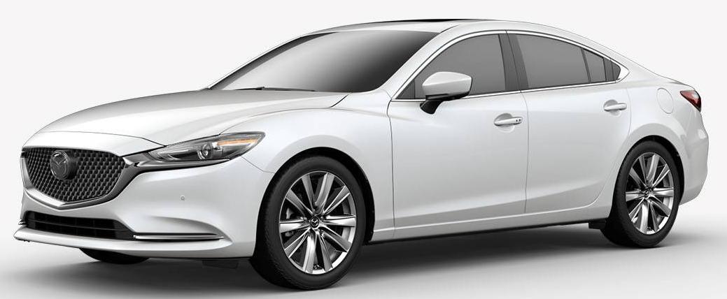 2018 Mazda6 Snowflake White Pearl Mica