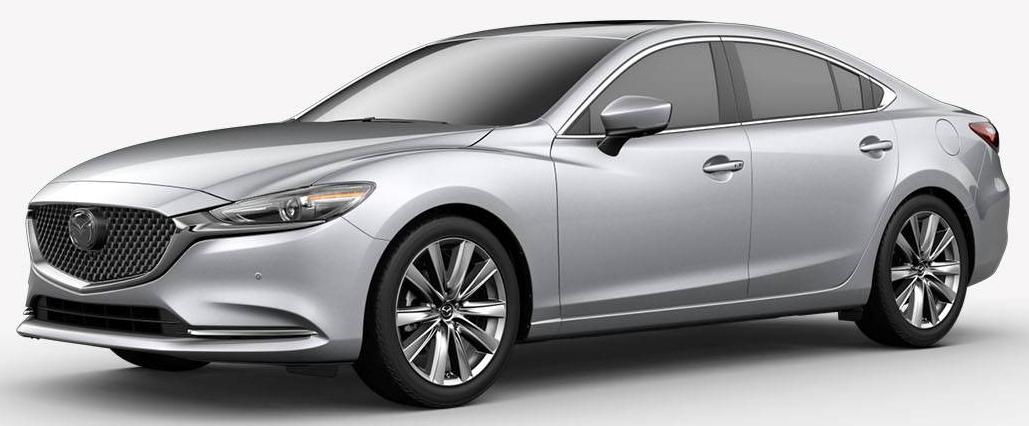 2018 Mazda6 Sonic Silver Metallic