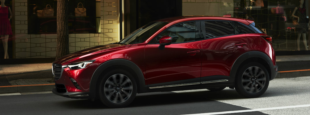 2019 Mazda CX-3 Exterior Paint Color Options
