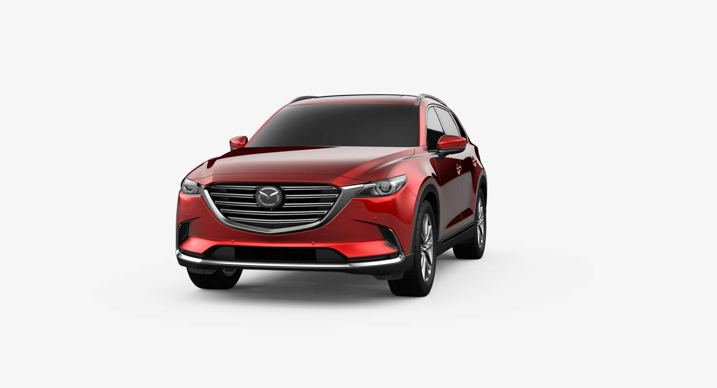 2019 Mazda CX-9 Soul Red Crystal Metallic