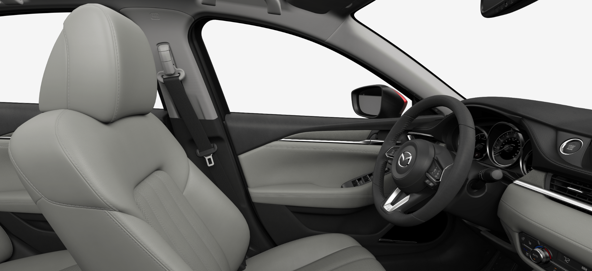 2018 Mazda6 Parchment Leather