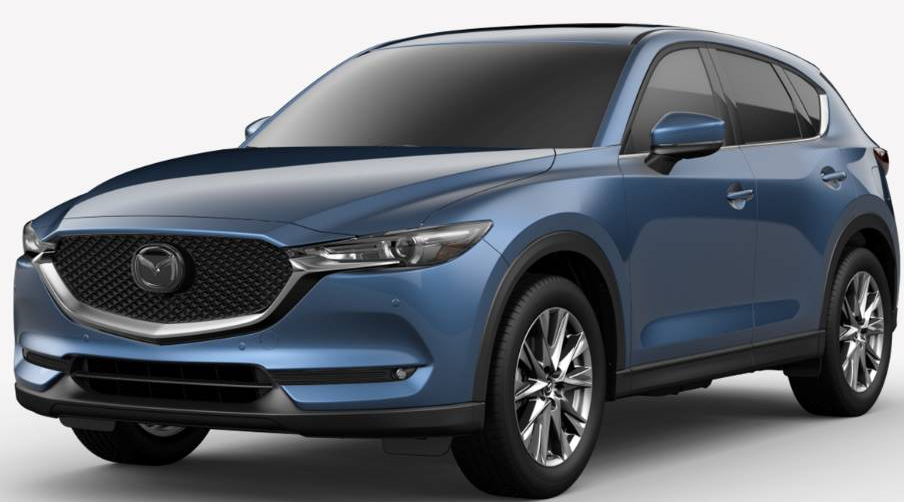 2019 Mazda CX-5 Eternal Blue Mica