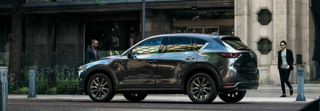 2019 Mazda CX-5 outside