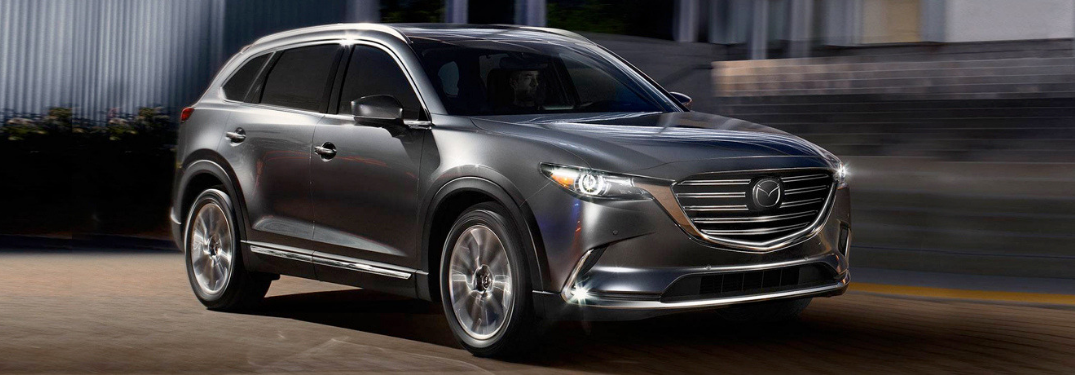 2019 Mazda CX-9 parked outside