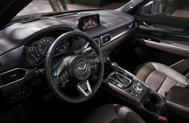 2019 Mazda CX-5 dash and wheel interior view