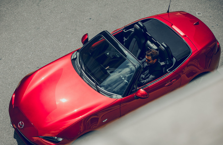 2019 Mazda MX-5 Miata top down view
