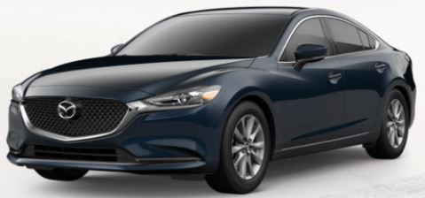 2019 Mazda6 Deep Crystal Blue Mica