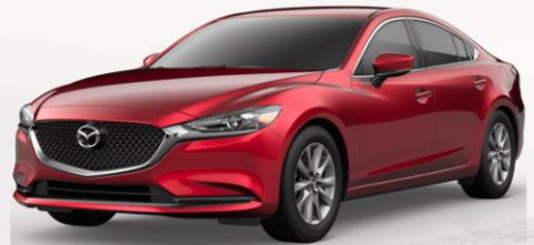 2019 Mazda6 Soul Red Crystal Metallic