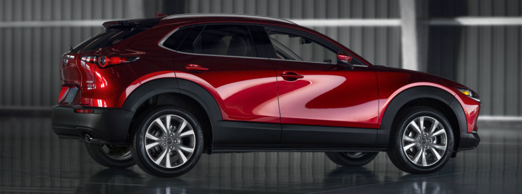 2020 Mazda CX-30 in a warehouse