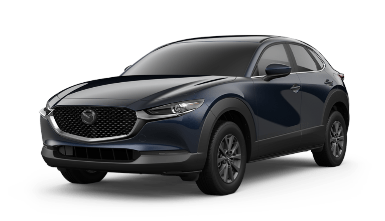 2020 Mazda CX-30 in Deep Crystal Blue Mica