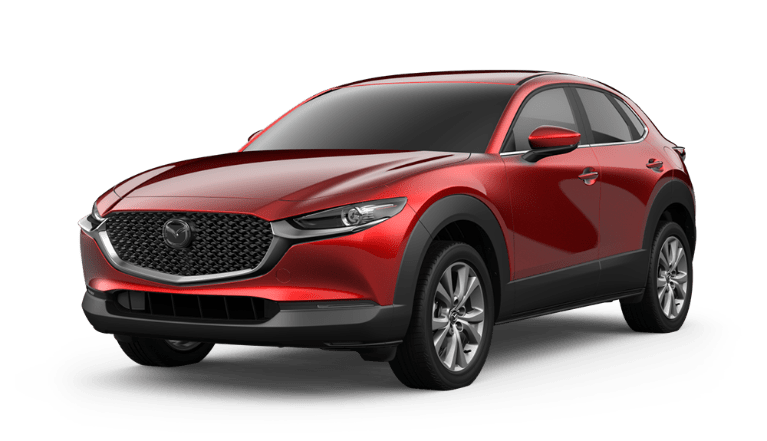 2020 Mazda CX-30 in Soul Red Crystal Metallic