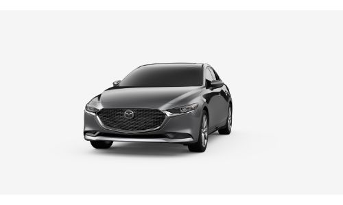 2020 Mazda3 Machine Grey